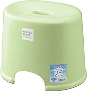 リス『防カビ加工』 H&H 風呂椅子 250 パステルグリーン