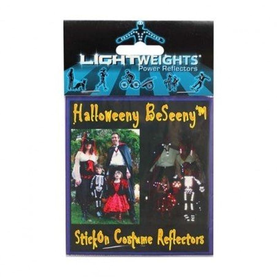 怪物延期するトラフ(LIGHTWEIGHTSPowerReflectors)(自転車用リフレクター)Halloweeny BeSeeny 20
