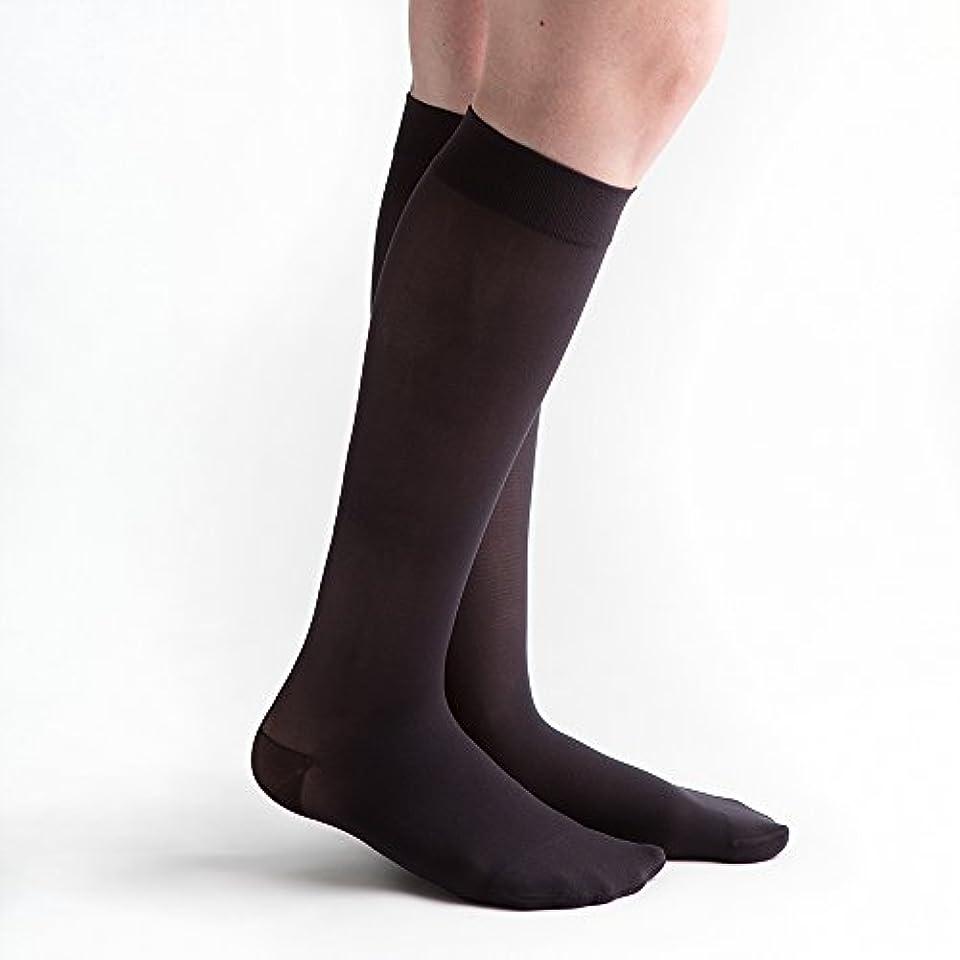 困惑した敬の念締めるvenactive薄手20 – 30 mmHg Closed Toe膝高圧縮ストッキング