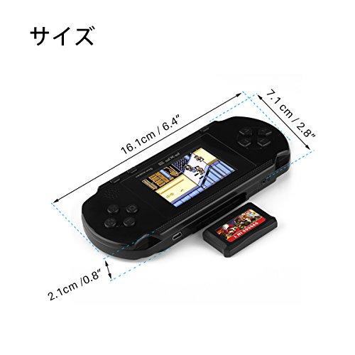 ALLOMN PXP3ゲームパッド ゲームコンソールPXP3 ゲーム機  クラシック 子供の記憶