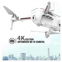 広角4K HDカメラを備えたブラシレスドローンGPSドローンクアッドコプターワンボタンリターンホームブラシレスモーター25分の飛行