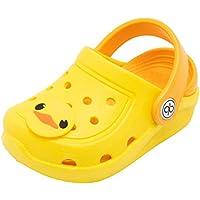 dripdrop Girls Comfort Clogs Toddler Slip On Garden Slippers Kids Water Sandals Lightweight Boys Summer Pool Beach Shoe (Toddler/Little Kids)