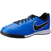 Nike Australia Boys Jr Legend 7 Academy IC Fashion Shoes, Racer Blue/Black-Metallic Silver