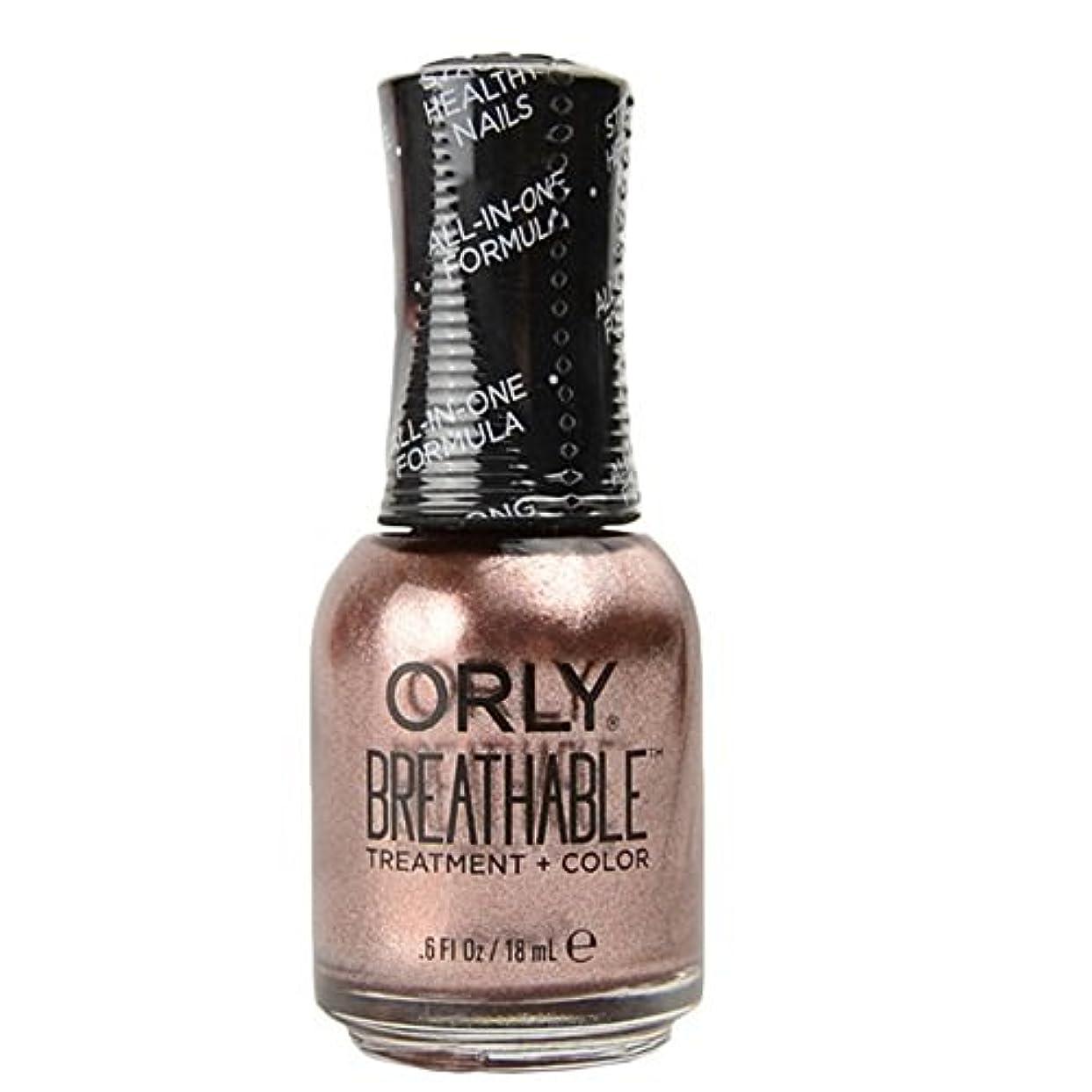 メロン迫害する未使用Orly Breathable Treatment + Color Nail Lacquer - Fairy Godmother - 0.6oz / 18ml