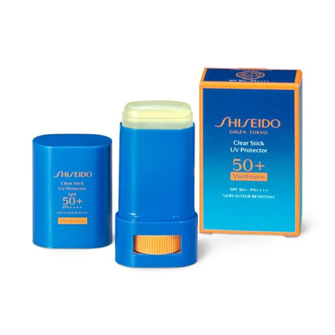 粗い垂直引き金SHISEIDO Suncare(資生堂 サンケア) SHISEIDO(資生堂) クリアスティック UVプロテクター 15g
