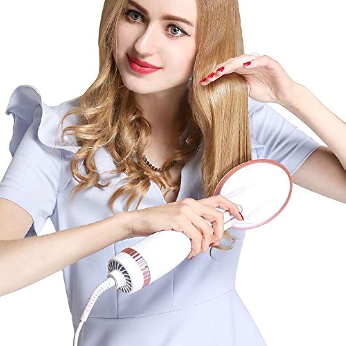 放映厳費用ワンステップヘアードライヤー熱風パドルブラシヘアードライヤーストレイテナーすべての髪の種類を解消する縮れたもつれたヘアノットを排除健康を促進する,USplug