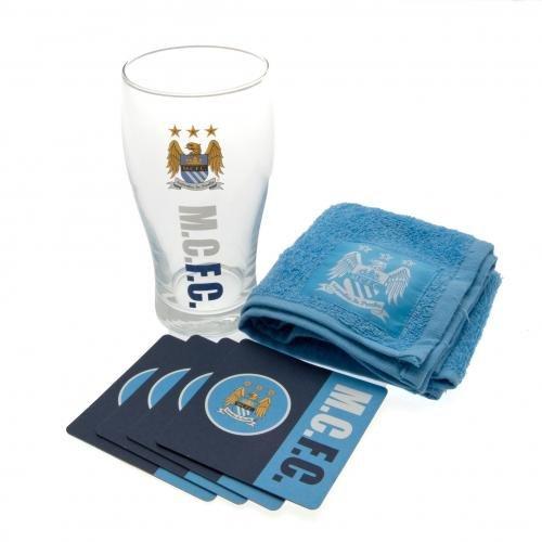 [해외]Manchester City (맨체스터 시티) 공식 미니 바 세트/Manchester City (Manchester City) official mini bar set