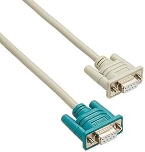 サンワサプライ RS-232Cケーブル 1.0m KR-M1