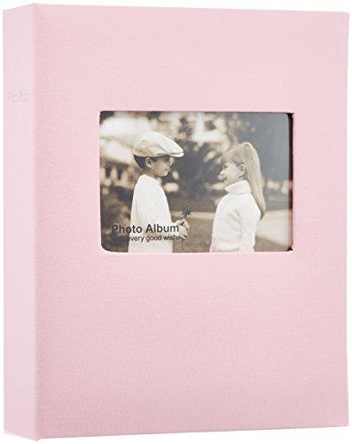 SEKISEI (セキセイ) アルバム ポケット ハーパーハウス フレームアルバム Lサイズ 200枚収容 L 151~200枚 布 ピンク XP-3250 B00BH8NAZG 1枚目