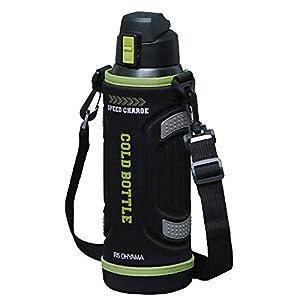 アイリスオーヤマ 水筒 スポーツボトル 1L 直飲み ワンタッチ グリーン スペアパッキン付 SDB-1000