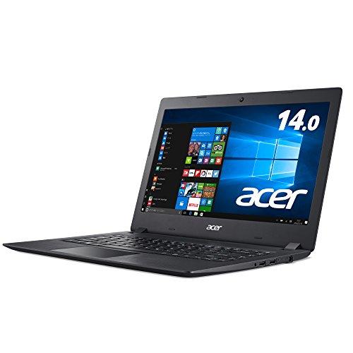 あり   Acer Aspire 1 A114-31-A14P  Celeron N3350/ 4GB/ 64GB eMMC/ ドライブ/ 14.0/ Windows 10 Home 64bit / Office/ オブシディアンブラック
