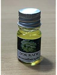5ミリリットルアロマDokKaewタイの花フランクインセンスエッセンシャルオイルボトルアロマテラピーオイル自然自然5ml Aroma DokKaew Thai Flower Frankincense Essential...