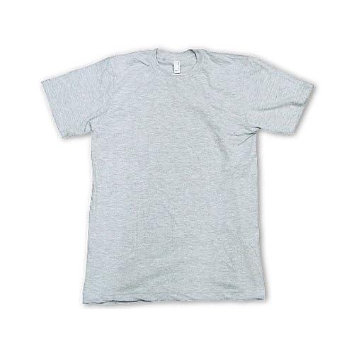 (アメリカンアパレル) American Apparel 2001 半袖Tシャツ クルーネック ヘザーグレー XS
