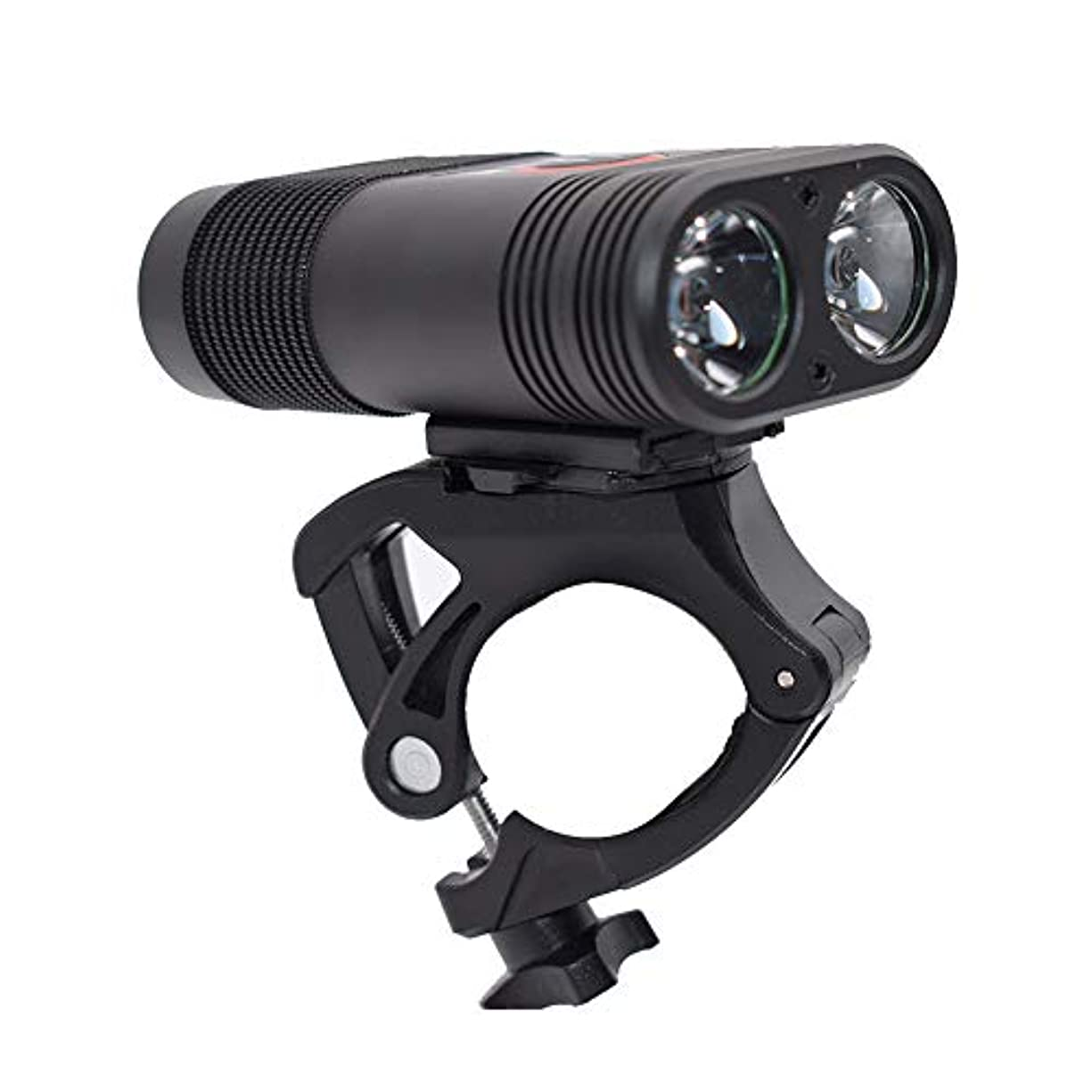 追加取る将来の一佳 自転車用 ヘッドライト マウンテンバイク ライト BX2 mountain bike T6 バイク用と懐中電灯両用 2600mAH USB充電式 夜間超明るいヘッドライトグレアライド