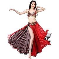 ベリーダンスセット大人の女性のスパンコール刺繍パフォーマンス服