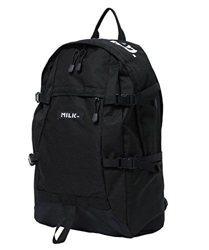 [ミルクフェド] バックパック LOGO PRINT BIG BACKPACK 03172027 10 BLACK