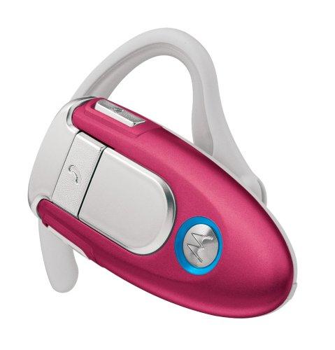 【国内正規品】 モトローラ Bluetoothワイヤレスヘッドセット H500 HotPink H500-HP