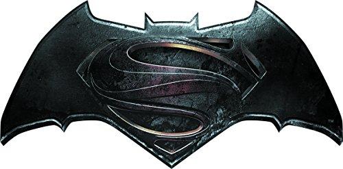 "Batman vs Superman Official Logo, DAWN OF JUSTICE - Original Licensed Movie Artwork - Iron/Sew-On Premium Quality, 4"" x 2"" - PATCH"