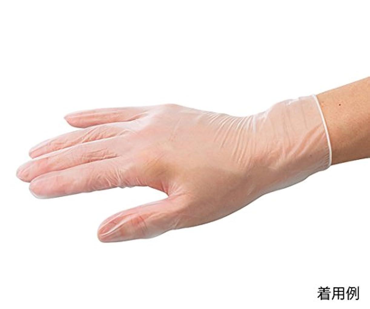 どきどきチューインガム突っ込むARメディコム?インク?アジアリミテッド7-3726-01バイタルプラスチック手袋(パウダーフリー)S150枚入