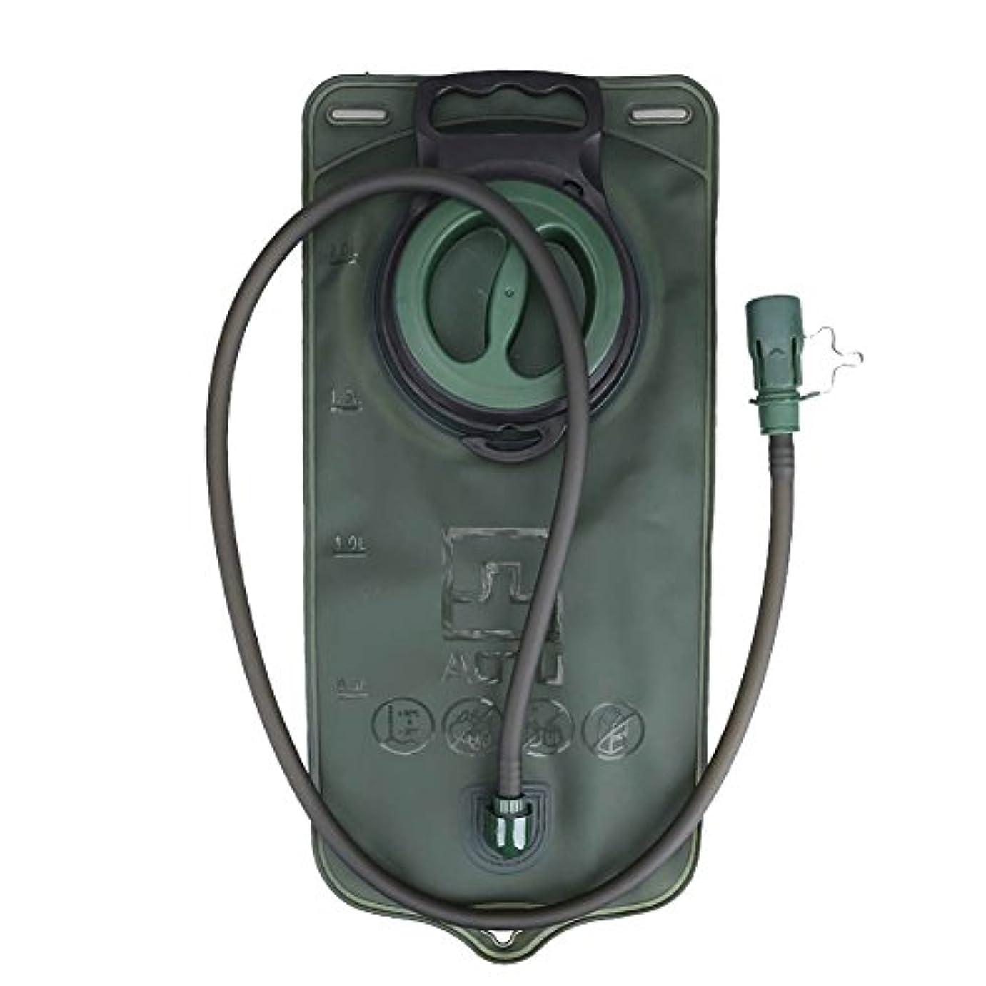 深い応用デッキk-outdoor ハイドレーション 水袋 水分補給 ハイキング 登山 サイクリング 2L TPU 携帯式 抗菌