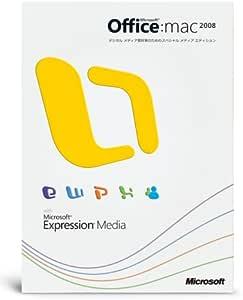 【旧商品】Office 2008 for Mac Special Media Edition with Expression Media