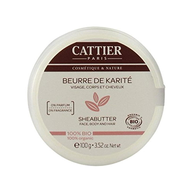 精神的に世界に死んだ包括的Cattier Shea Butter 100% Organic 100gr [並行輸入品]