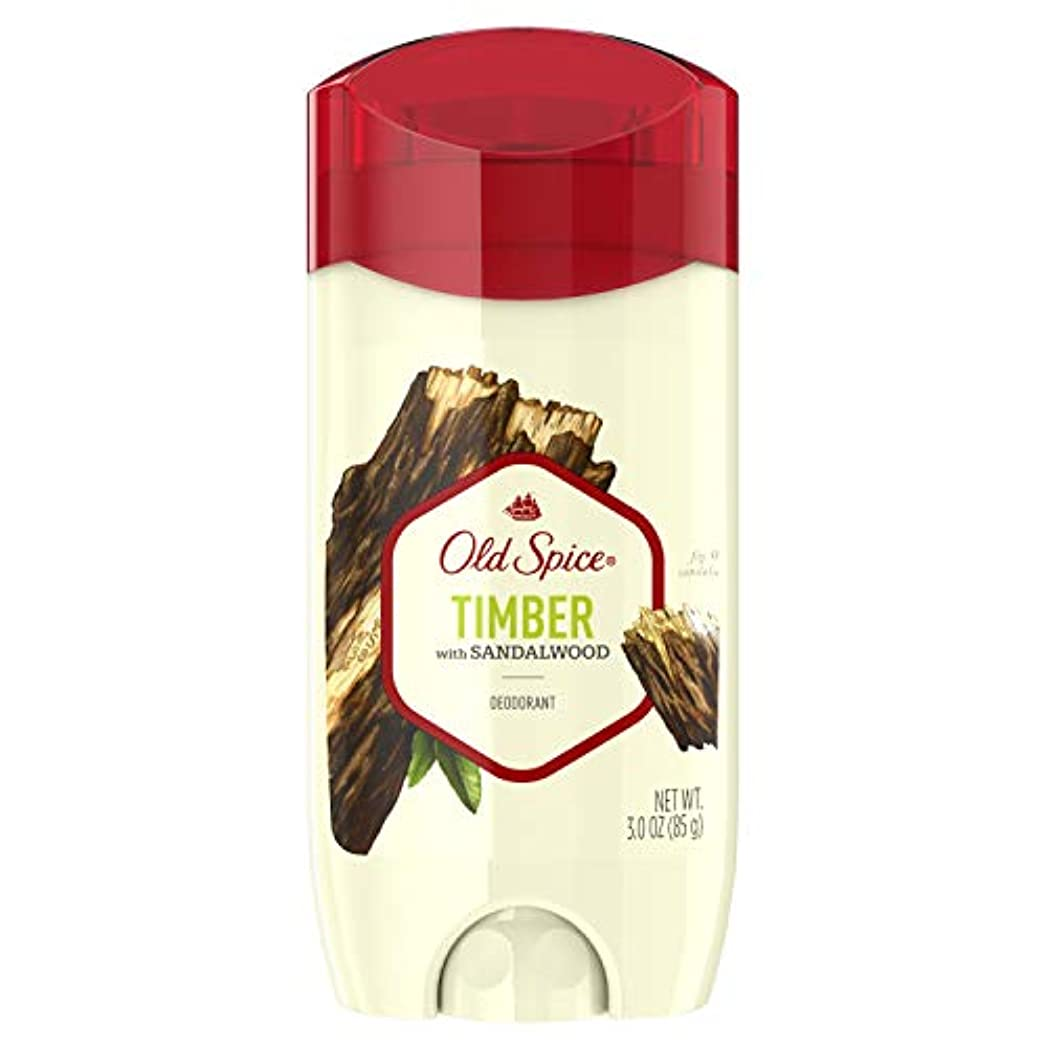 行き当たりばったりピース騒々しいOld Spice Fresher Collection Timber Deodorant - 3oz オールドスパイス フレッシャー コレクション ティンバー デオドラント 85g [並行輸入品]