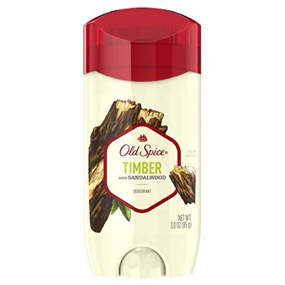 仕えるアッティカス計器Old Spice Fresher Collection Timber Deodorant - 3oz オールドスパイス フレッシャー コレクション ティンバー デオドラント 85g [並行輸入品]