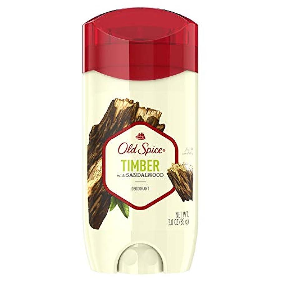 フェンスがっかりするシャットOld Spice Fresher Collection Timber Deodorant - 3oz オールドスパイス フレッシャー コレクション ティンバー デオドラント 85g [並行輸入品]