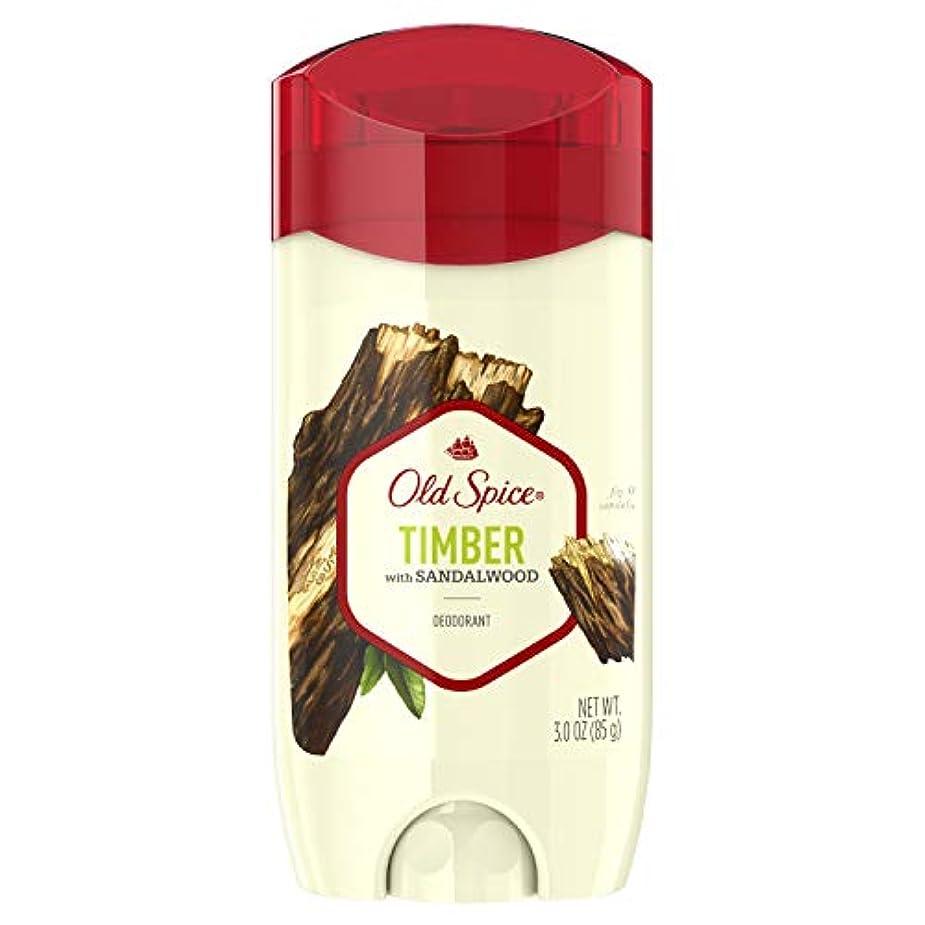 通貨教養がある確執Old Spice Fresher Collection Timber Deodorant - 3oz オールドスパイス フレッシャー コレクション ティンバー デオドラント 85g [並行輸入品]