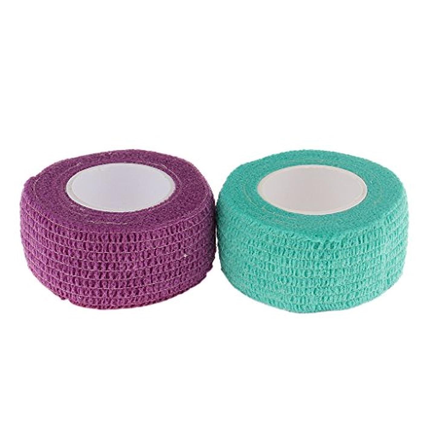 軽くカップ逃れるT TOOYFUL ネイルケア 接着テープ 保護 包帯 自己粘着 ネイルエクステンション 織布 使いやすい 2個セット