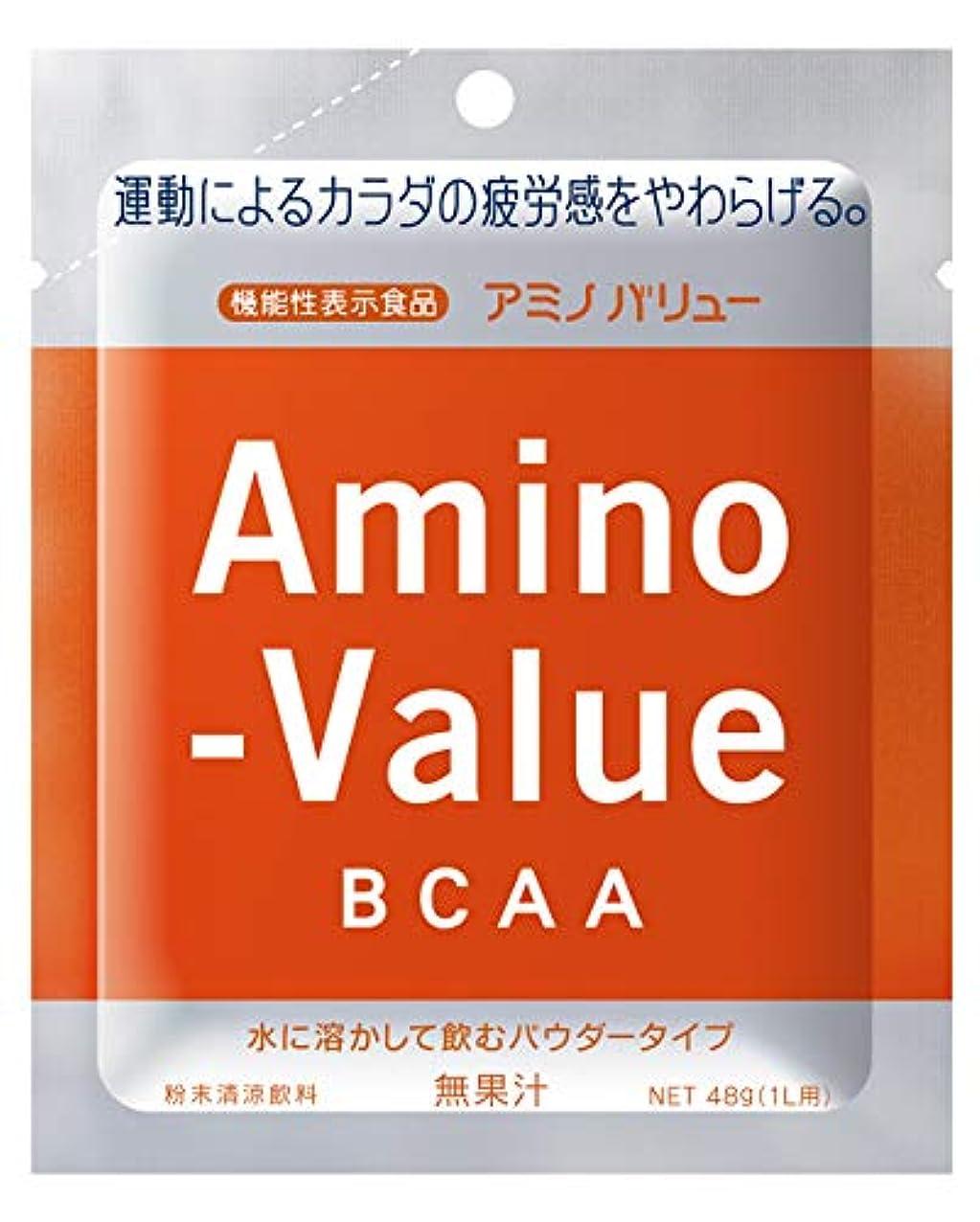 気絶させるスリル引用大塚製薬 アミノバリュー BCAA パウダー8000 1L用 (48G)×5袋×20箱 [機能性表示食品]