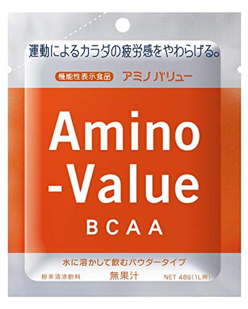 印象的外観日光大塚製薬 アミノバリュー BCAA パウダー8000 1L用 (48G)×5袋×20箱 [機能性表示食品]