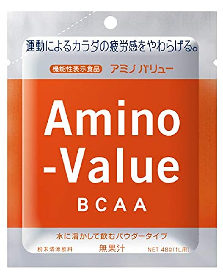 居心地の良いパーティション目の前の大塚製薬 アミノバリュー BCAA パウダー8000 1L用 (48G)×5袋×20箱 [機能性表示食品]