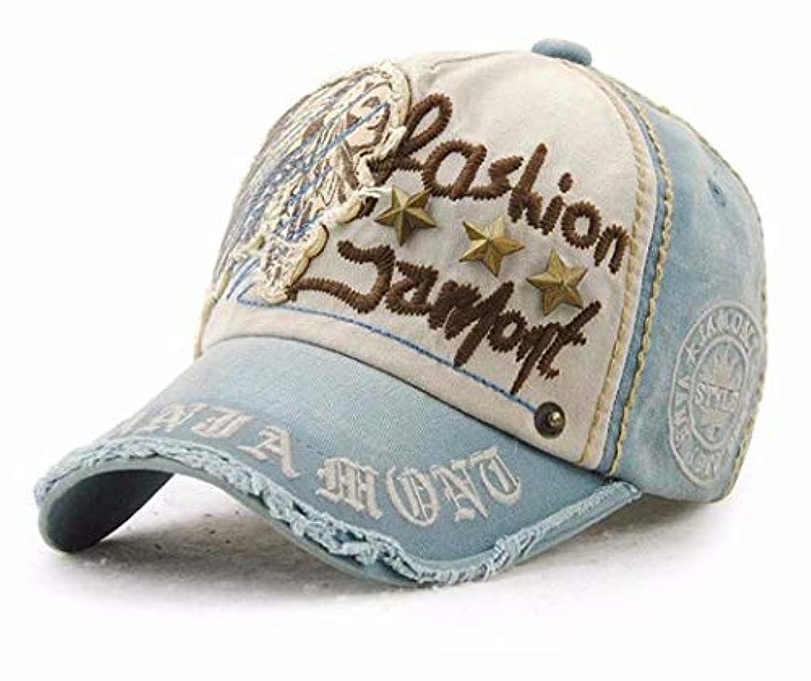 マニアカストディアン留め金七里の香 リベットの刺繍の野球帽を ファッションのカウボーイハットをピークに、キャップ
