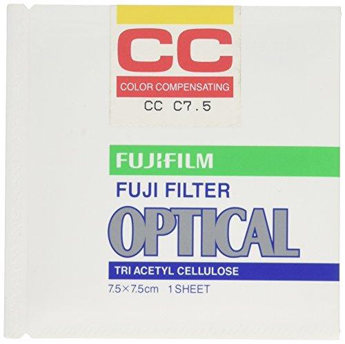 FUJIFILM 色補正フィルター CCフィルター  単品 フイルター CC C 7.5 7.5X 1