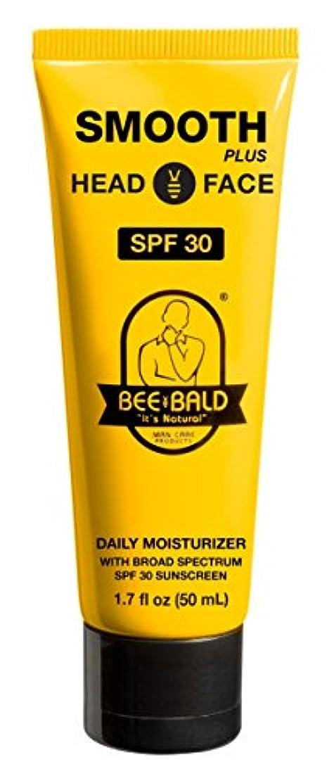 成果文法製品Bee Bald SPF 30幅広いスペクトルとのスムーズなプラス毎日の保湿剤