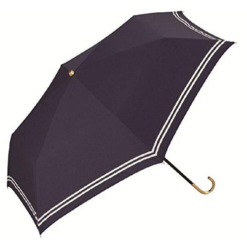 WPC 【遮光率90%以上】セーラー晴雨兼用折りたたみ傘【ネイビー/**】
