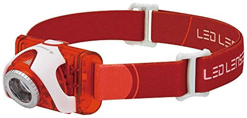 小石ひまわりリダクターLedlenser(レッドレンザー) LEDヘッドライト SEO5 釣り/登山/トレラン用 【明るさ約180ルーメン】 【最長7年保証】 単4乾電池(AAA) x3本/防水等級:IPX6 [日本正規品]