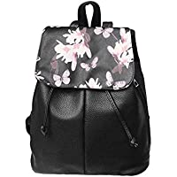 Women Backpack Soft PU Leather Casual Teenage Girls Female School Shoulder Bag