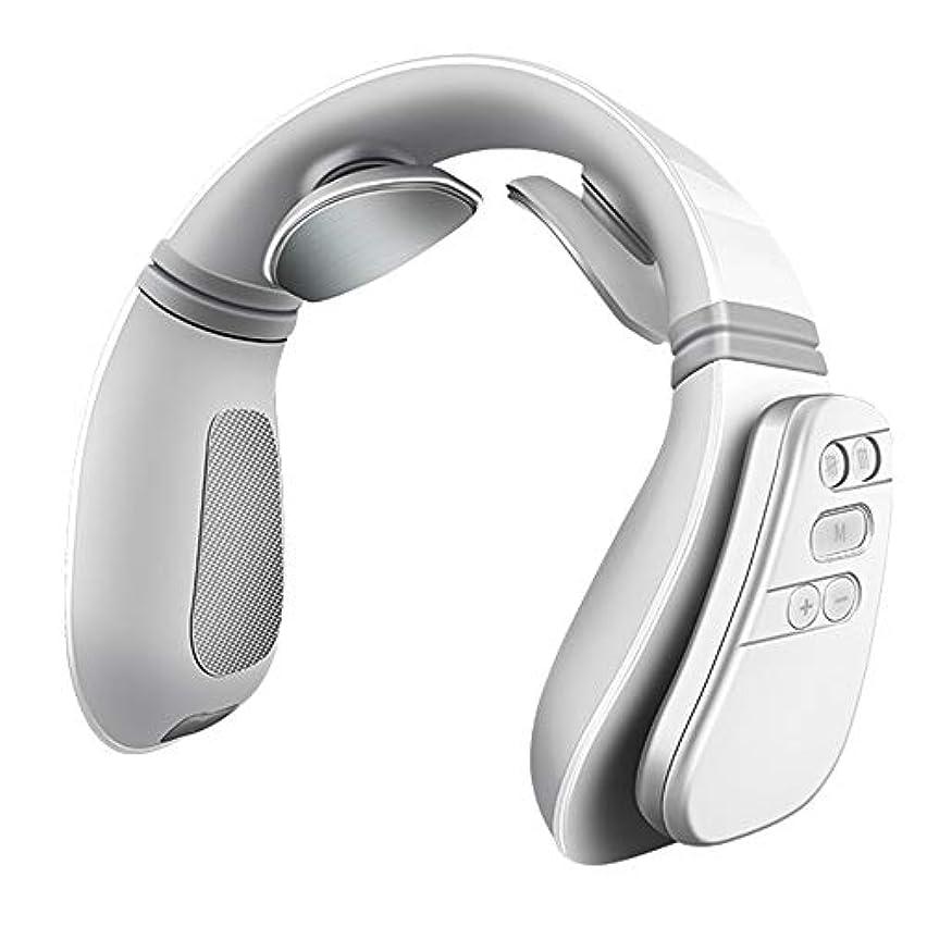 発表する明示的に相対サイズJiayaofu Electric Neck Massager with Heating Function, Wireless 3D Travel Neck Massage Equipment, Muscle, Shoulder...