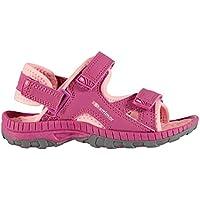 Official Brand Karrimor Antibes Sandals Infant Girls Rasberry/Pink Flip Flop Thongs Beach Shoes