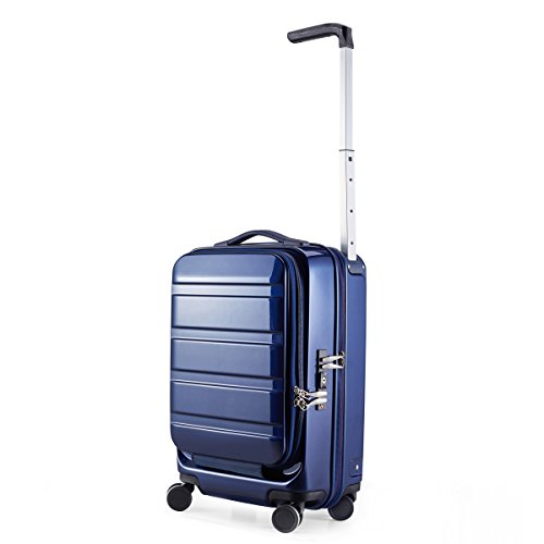 (サンコー) SUNCO スーツケース AC03-48 49cm ACTIVE CUBE 03 ネイビー