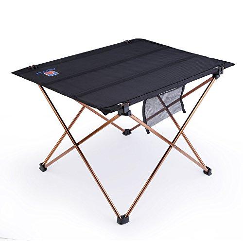 OUTAD アウトドアテーブル フォールディング アルミフレーム ウルトラライト 折畳みテーブル コンパクト収納
