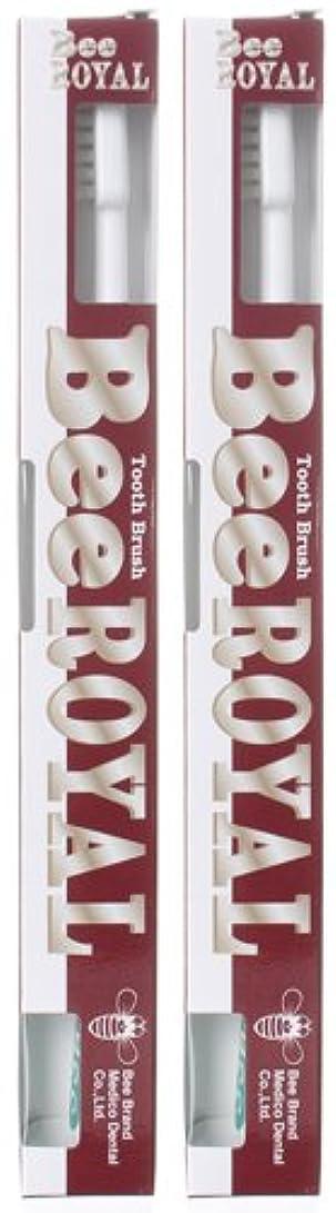 オートメーション検出可能同志BeeBrand Dr.BEE 歯ブラシ ビーロイヤル ふつう 2本セット