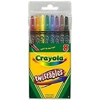 Crayola 52-7408 8本入り ツイスト式クレヨン 6 52-7408