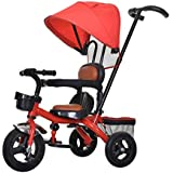 子供の三輪車 子供の三輪車自転車1-5歳ベビーカー自転車少年少女ハンドカート 三輪車 おりたたみ 持ち運び (色 : D, サイズ さいず : 2)