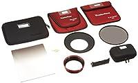 Fotodiox ハードエッジグラッド ND & 186mm ND16フィルター Canonレンズ用 ブラック (WdPFA-ES16.6HE-KIT-C1124)