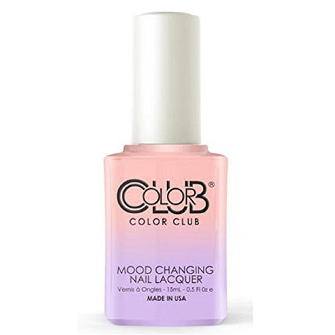 ミリメーター単なる深遠Color Club Mood Changing Nail Lacquer - Everything's Peachy - 15 mL / 0.5 fl oz