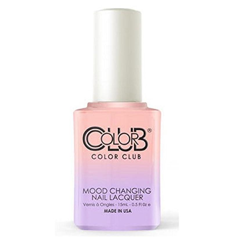 拒絶繁雑決してColor Club Mood Changing Nail Lacquer - Everything's Peachy - 15 mL / 0.5 fl oz